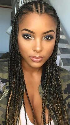 Half Braided Hairstyles African American Braidedhairstyles Braids For Black Hair Stylish Hair Braided Hairstyles