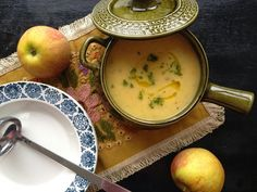 Celeriac, Apple and Tarragon Soup | Eat Simply, Eat Well
