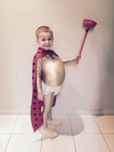 DIY Captain Underpants Halloween Costume Idea