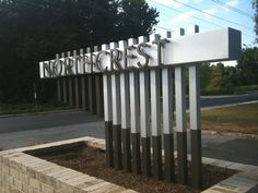 modern outdoor signage - Google Search