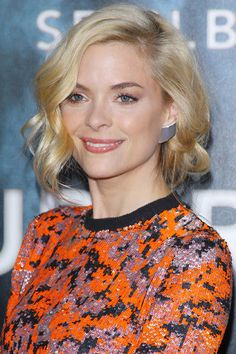 Glamorous Jaime King is regularly spotted sporting a faux bob.