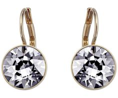 Ideally suited to day and evening wear, this pair of rose gold-plated pierced earrings sparkles in Crystal Silver Night. The unique shape of the... Shop now