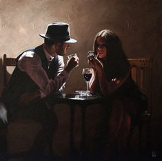 Don't just trace my unveiled bones, uncover also the secret it holds. Look at me and solve the puzzle in my eyes.look at me I dare you. (credit to Mazel J) Blunt Art, Fabian Perez, Retro, Jack Vettriano, Bar Art, Ducati Monster, Pulp Art, Couple Art, Figure Painting