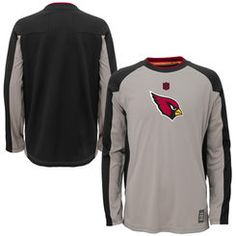 Youth Gray #AZCardinals Long Sleeve T-Shirt. #NFLStyle