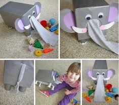 Vad finns i elefanten? Baby Sensory Play, Sensory Toys, Sensory Activities, Baby Play, Infant Activities, Baby Learning, Preschool Learning, Learning Activities, Activities For Kids