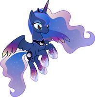 Princess Luna Rainbowfied by TheShadowStone
