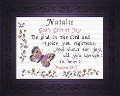 Name Blessings -  Natalie 2