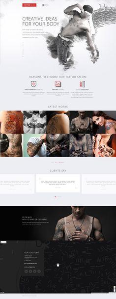 Tattoo Salon Responsive Website Template http://www.templatemonster.com/website-templates/tattoo-salon-responsive-website-template-59099.html