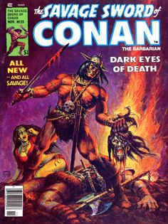 The Savage Sword of Conan The Barbarian #35