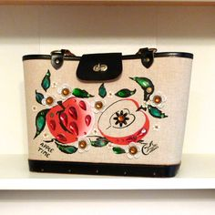 Enid Collins Apple Time Purse Back to School by plattermatter, $148.00