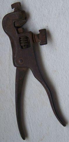 Old Tool Stearns Saw Set Blade Kerf Setter Woodworking Hand Sawset Clamp Rustic #VintageTool