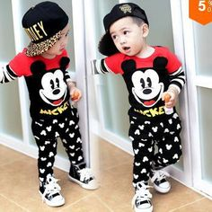 7e103bf8f5 Online Cheap Hot Boys Casual Suit Children S Wear Autumn Sports Baby Boys  Clothes Set Cartoon Clothing Long Sleeve Set Girl By Onetoones