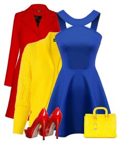 Red, Yellow, & Blue by majezy on Polyvore featuring Fernanda Yamamoto, Gucci and Ted Baker