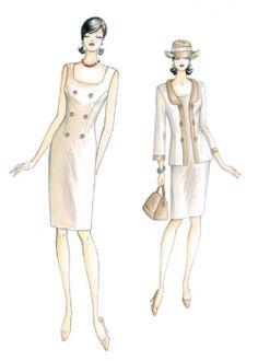 sewing pattern Dress 2589