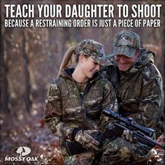 That's why we are starting her out with a BB gun of her own and moving up.
