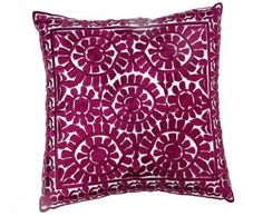 Aubergine Cotton Prestige  Pillow