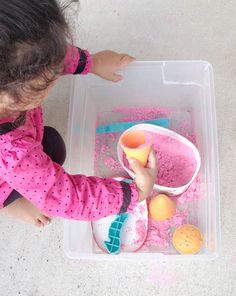 Ice cream Activity *Sensory Play with Cloud Dough
