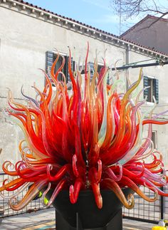 Murano, Italy Venezia Veneto -- I got to see this in person. Truly spectacular
