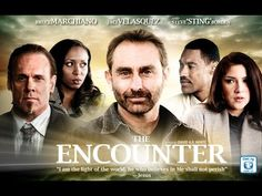 The Encounter  (Christian Movie FULL Version) 2010. It follows 5 strangers living in California: Nick, a former NFL player and owner of a chain of burger restaurants; Hank and Catherine, a married couple whose marriage is falling apart; Melissa, a Christian on the way to visit her boyfriend and Kayla, a hitchhiker escaping her horrible living conditions in Los Angeles. When a detour road is closed off, the 5 are stranded in a diner with its' omnipresent owner, who is revealed to be Jesus…
