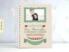 PhotoBook dia dos namorados, scrapbook, niver de namoro, casal, presente, namorada criativa, álbum de fotos, personalizado, Estúdio Bix