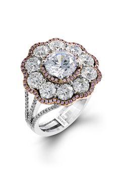 26 Unique Engagement Rings for the Nontraditional Bride  - ELLE.com