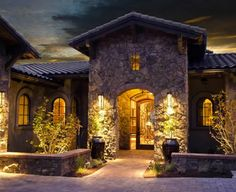 Tuscan Home Entry