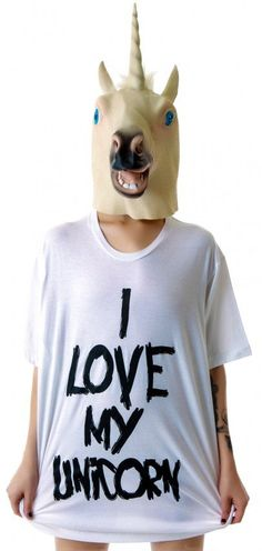 #Dolls Kill               #love                     #Love #Unicorn #Oversized                           I Love My Unicorn Oversized Tee                                               http://www.seapai.com/product.aspx?PID=928235