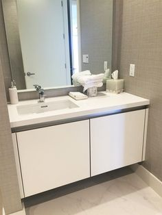 Bathroom Design Miami project completed in miami, fl. #bathroom #furniture #italy