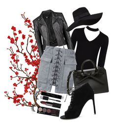 """""""Bodysuit Week Set 1"""" by ellieinawellie ❤ liked on Polyvore featuring Brewster Home Fashions, Boohoo, San Diego Hat Co., WithChic, Yves Saint Laurent, Christian Dior and NARS Cosmetics"""
