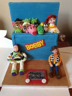 Toy story cake Toy box from Cakes By Nicky