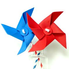 Safe pinwheel tutorial for kids with no pins