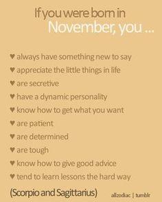 November- Scorpio