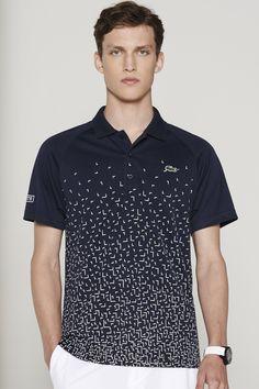 Lacoste Ultra Dry Printed Polo   Polo Shirts Remeras De Hombre, Bolsillos,  Polos, 2f66abbc79
