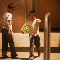 """Penalty Kick"" | somewhere @ Barcelona   ©Mariella Nikkanen"