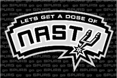 Let's get a dose of nasty! Go Spurs Go! Spurs Logo, Gregg Popovich, Cowboy Spurs, Sports Page, Nba Champions, San Antonio Spurs, Juventus Logo, Purse, Let It Be
