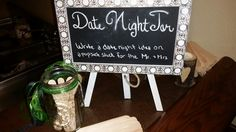 Date night suggestion ideas for the bride and groom.