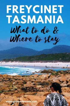 Planning a trip to Tasmania? Check out this guide to the best hikes and viewpoints in Freycinet National Park plus how to get to Wineglass Bay, one of the most beautiful beaches in Australia. Includes top tips for where to eat and stay in Coles Bay. Brisbane, Melbourne, Sydney, Tasmania Road Trip, Tasmania Travel, Australia Travel Guide, Visit Australia, Australia Holidays, Travel Advice