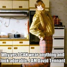 Hahaha, David Tennant being adorable :D This is when he played in The Decoy Bride.