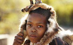 #africa #fur #portrait #hunter #boy #tradition #trophy #pride copyright by Luca Zordan