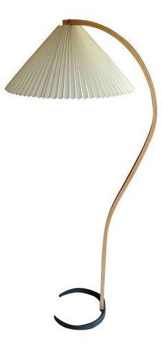 Caprani Bentwood Floor Lamp on Chairish.com