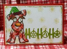 CAS403 Woof! by peeps321 - Cards and Paper Crafts at Splitcoaststampers