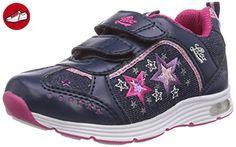 Lico Blinkstar, Mädchen Sneakers, Blau (marine/pink/lila), 25 EU - Lico schuhe (*Partner-Link)