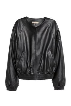 14 Of The Best Bomber Jackets For Spring #refinery29  http://www.refinery29.com/bomber-jackets-trend-fashion-week-2016#slide-12  Trade your usual moto jacket for a leather bomber.H&M Leather Pilot Jacket, $299, available at H&M....