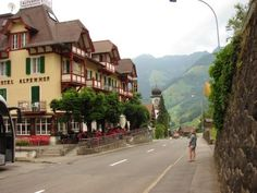 A charming hotel, the Alpenhof, in Melchtal, Switzerland line-dries their linens and serves fresh, wholesome food.  And they only charged 2 F for an overseas phone call! I loved my one night here.