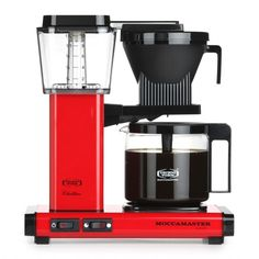 Moccamaster KBG741 AO rood - Technivorm - Filtermachines -