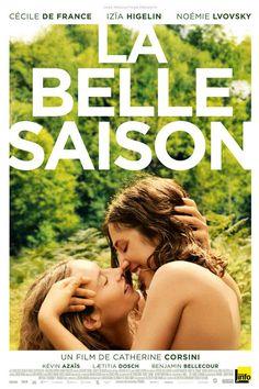 Enlacée nue avec Cécile de France : dans La Belle Saison, Izia ne se paye pas l'affiche.,