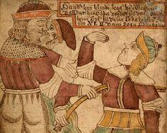The greatest / most ridiculous illuminated manuscript I've ever seen