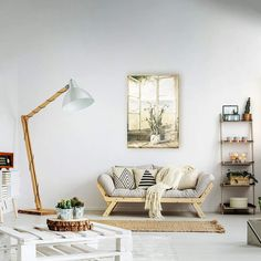 Discover the best beach themed tapestries and coastal wall tapestries. We love beach wall decor and tapestries are affordable and beautiful, which makes them a great option. Wooden Couch, Wooden Pallet Furniture, Home Furniture, Living Room Plants, Living Room Interior, Outdoor Beds, Beach Wall Decor, Living Room Designs, Rugs On Carpet