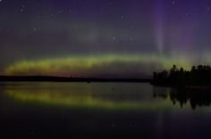Northern Lights, north of Duluth MN