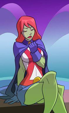 YJ: Miss Martian by UsmanHayat on DeviantArt Dc Comics Girls, Dc Comics Heroes, Dc Comics Art, Anime Comics, Dc Comics Women, Marvel Comics, Comic Movies, Comic Book Characters, Comic Character